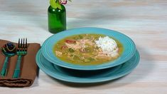 ... Erik and Jessie Decker's recipe for Gumbo...on Rachel Ray show, yummy. Made it tonight!