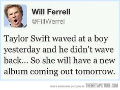 Sorry, I love taylor swift but this is kind of funny.