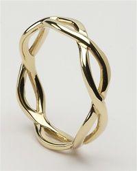 Ladies Celtic Infinity Wedding Rings LG-WED163