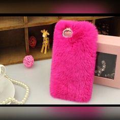 Coming Soon IPhone 6 plus fur case Hot Pink Fur Case IPhone 6 plus Accessories Phone Cases