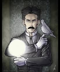 Tesla (and pigeon)