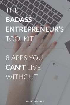 Starting a business can be enlightening, challenging, exhilarating, confusing, I could go on. But, what I'd rather do, is share the tools I use to make running a business a little less of a chore and a lot more fun.