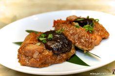 Pork free glutinous rice 'lo mai kai'