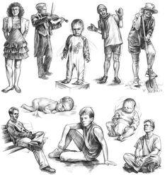 Human Figure Sketches, Human Sketch, Human Figure Drawing, Figure Sketching, Art Drawings Beautiful, Cool Art Drawings, Art Drawings Sketches, Cartoon Drawings, Deviantart Drawings