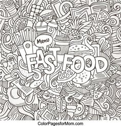 Doodles 41 Coloring Page
