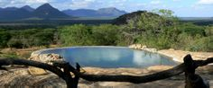 Sarara Game Lodge & Camp in Kenya near the Mathews Mountains. I'm convinced this is Eden.