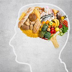Here's some food for thought. You can slow down your brain's aging process by eating the right kind of foods. Here is a list of 6 of the best foods for your brain that can keep Alzheimer's, dementia and memory loss at bay. Healthy Brain, Brain Food, Brain Health, Gut Brain, Health Diet, Nutrition And Mental Health, Adhd Brain, Brain Science, Healthy Heart