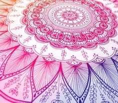 Mandala drawing by flickpaalmater