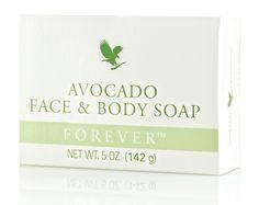 Avocado Face & Body Soap. Podstawą naturalnego piękna jest czysta, zdrowa skóra. A podstawą czystej, zdrowej skóry jest natura. Od ponad 30 lat Forever....