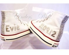 0b7bfe7ac3e Items similar to Rhinestone converse bling converse wedding converse all  star custom converse rhinestone shoes bridal converse sneakers chuck  taylors on ...