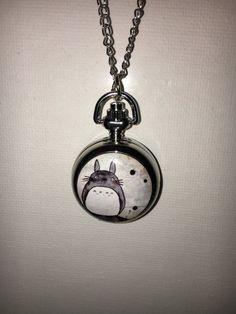 Totoro Watch Pendant Beautifully Crafted Costume Jewelry  Great Gift!  Cute   | eBay