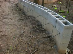 You are in the right place about Landscaping Retaining Walls patio Here we offer you the most beauti Cheap Retaining Wall, Backyard Retaining Walls, Rock Retaining Wall, Building A Retaining Wall, Concrete Retaining Walls, Landscape Bricks, Landscape Design, Garden Design, Cinder Block Walls