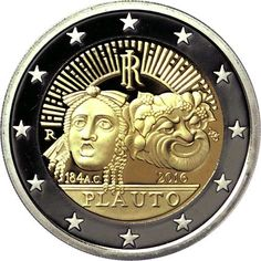 2€ cc 2016 Italia en calidad Proof – Plauto