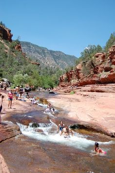 slide rock state park- Went here as a kid loved it and can't wait to take my kids someday!!