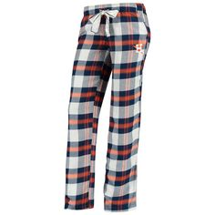102980ccdf9 Houston Astros Concepts Sport Women s Headway Flannel Pants – Navy Orange
