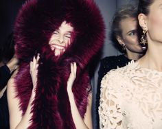 Marchesa Fall 2014 - Backstage - Photographed by Taylor Jewell