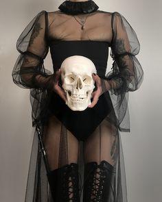 Macbeth dress + Lace Trim collar + Marybelle bustier + Thigh Girdles How To Wear Lace Clothing Lace Dark Fashion, Gothic Fashion, High Fashion, Womens Fashion, Emo Fashion, Style Fashion, Steampunk Fashion, Mode Harajuku, Yennefer Of Vengerberg