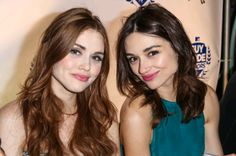 crystal reed, teen wolf, and holland roden Bild
