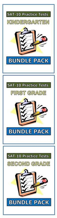 These SAT-10 practice tests are on SALE until May 23rd. Save 25% on all packets for K-2. Click the following link to view and download these resources. http://mdk2teachingresources.weebly.com/index.html
