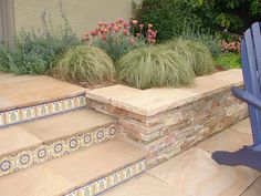 Tamar Carson Landscaping - Oakland, CA, United States. Tiled back porch and…