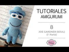 🍀 TUTORIAL AMIGURUMI 8: JOE GARDNER Amigurumi (1ª parte) | Película SOUL Disney-Pixar | PASO a PASO - YouTube