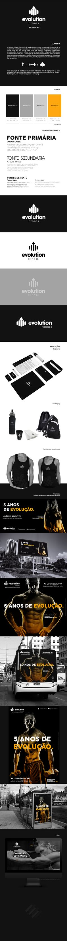 Evolution Fitness on Behance