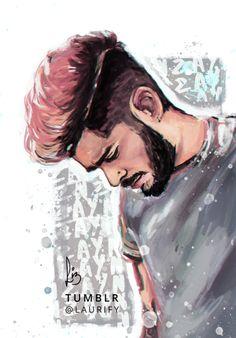 Zayn MalikThat pink hair…