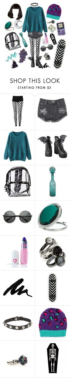 """""""I don't like Monday's"""" by velvetvolcano ❤ liked on Polyvore featuring Glamorous, Iron Fist, ZeroUV, Miss Selfridge, Sugarpill and R13"""