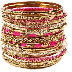 Amrita Singh Mallika Bangle Set ($100) ❤ liked on Polyvore