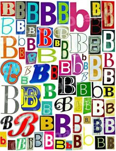 The Letter B On Pinterest