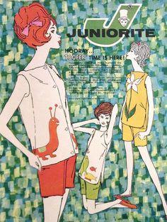 Vintage Juniorite Illustration