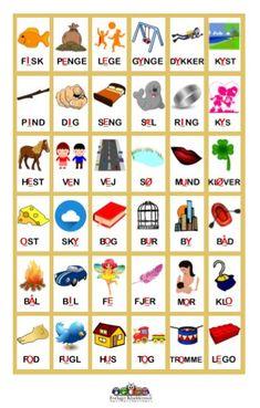 vokalmånen1 Danish Language, Swedish Language, Home Schooling, Special Needs, Kids Education, First Grade, Kindergarten, Homeschool, Crafts For Kids
