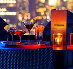 BAR AT RAINBOW ROOM | SixtyFive, cocktail lounge and outdoor terrace | 65th floor of 30 Rockefeller Plaza |  Mon - Fri, 5 PM to midnight
