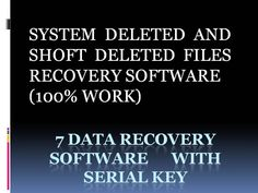 7DATA RECOVERY SOFTWARE