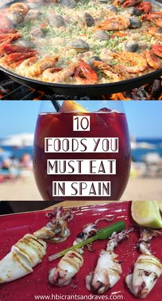 Spanish Dishes You Must Eat