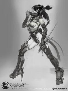 Mortal_Kombat_X_MKX_Concept_Art_JM_Mileena_speed.jpg (1343×1800)