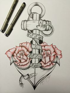 drawings tattoo sketches drawing meaningful tattoos easy mice let unique leg anchor pencil random guys uploaded