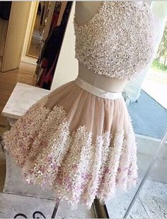 Sexy two piece homecoming dresses, two piece homecoming dresses, homecoming…