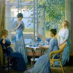 art-and-dream:  byRobert Vonnoh, American artist 1858 – 1933
