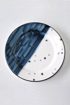 The Midnight Ocean Plate #worthynzhomeware wwworthy.co.nz