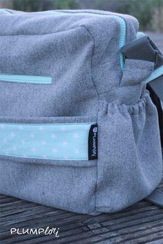 Wickeltasche mit integrierter Wickelunterlage