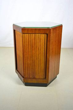 Vintage Henredon Small Hexagonal Cabinet with by OffCenterModern