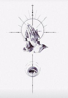 Cherub Tattoo, Surreal Tattoo, Realism Tattoo, Pink Floyd, Ink Art, Blackwork, Tattoos For Guys, Thigh, Tatting