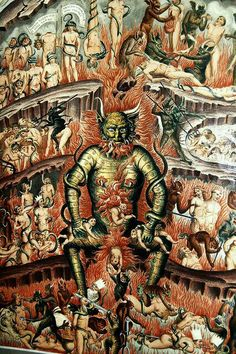 Great Tartaria through the eyes of medieval Christian theologians of Europe Arte Horror, Horror Art, Renaissance Kunst, Satanic Art, Arte Obscura, Demon Art, Macabre Art, Occult Art, Biblical Art