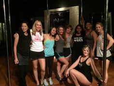 Ladies of all shapes and sizes can learn the basics of the fastest growing trend that's sweeping the planet, all in one fun, let-go-of-your-inhibitions class!  💋Meet You At The Poles💋 : www.stripper101.com #BacheloretteParty #Vegas #Stripper #GirlsNightOut Ladies Night, Girls Night Out, Marriage Life, Best Anti Aging, Dance Moves, Fast Growing, Pole Dancing, All In One, Letting Go