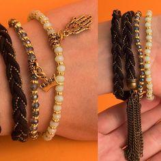 zpr Composição com Hamsa e Coroa!  Pulseira preta tem detalhe com tiras soltas, um mimo 😍  #pulseirismo #pulseira #acessorios #beu #beuacessorios #still #ecommerce #share #compartilhe #boy #boyfashion #fashion #produto #brinco #colar #neckless #ring #blogger #blogueira #bangalo #hamsa #coroa #crown #jogadinho #jogada #fitas #mimo