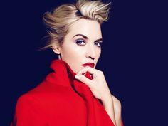 Kate Winslet - Lancome Advert  - 2013 #Makeup by Lisa Eldridge http://www.lisaeldridge.com/gallery/celebrities/