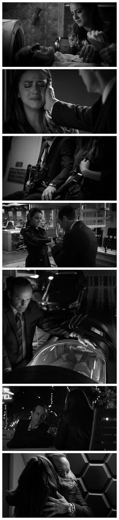 Not gonna lie: I watch this show for the Coulson Skye(Spoiler: Daisy) father/daughter feels