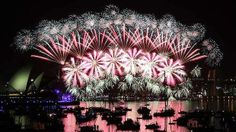 Happy New Year Australia 2014. Was here for this a few years ago. Probably the best New Year's Eve celebration EVER!