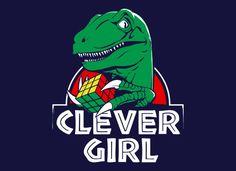 """Jurassic Park"" is one of my favorite films. Always did love dinosaurs. / $19.95 #JurassicPark #SnorgTees"